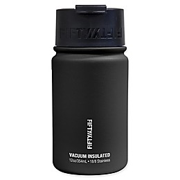 FIFTY/FIFTY 12 oz. Vacuum-Insulated Flip Top Lid Water Bottle