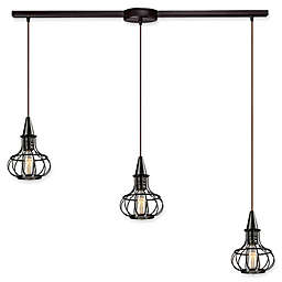 Elk Lighting Yardley Linear 3-Light Pendant