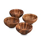 Nambe Yaro Salad Bowls (Set Of 4)