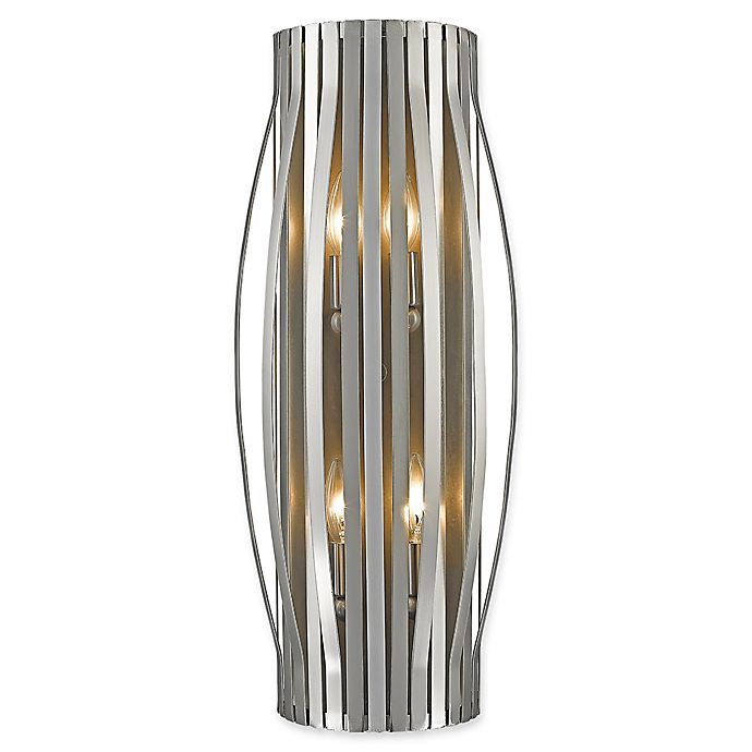 Alternate image 1 for Filament Design Clay 4-Light Wall Sconce in Brushed Nickel