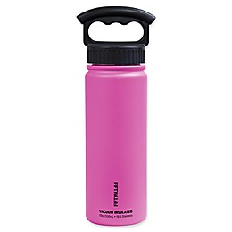 FIFTY/FIFTY 18 oz. Vacuum-Insulated Water Bottle with 3-Finger Grip Lid