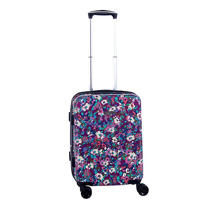 Alternate image 1 for Isaac Mizrahi Harley 22-Inch 8-Wheel Hardside Spinner Carry-on Luggage in Purple