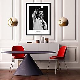 Barry Kramer's Sammy Davis 25-Inch x 37-Inch Wall Art