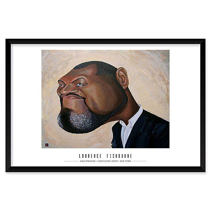 Alternate image 1 for Dan Springer's Laurence Fishburne 25-Inch x 37-Inch Wall Art