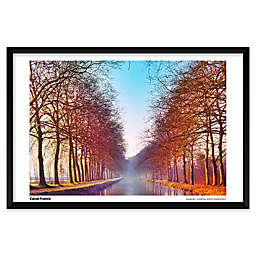 Daniel Furon's Canal, France 25-Inch x 37-Inch Wall Art
