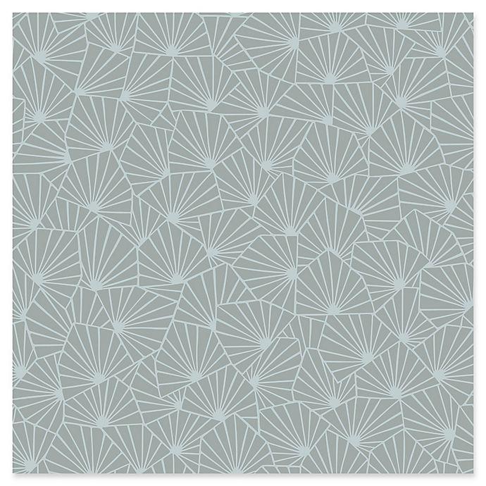 Alternate image 1 for Swedish Patterns Blomma Geometric Wallpaper in Sage