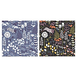 Swedish Patterns Hoppet Folk Wallpaper