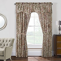 Rockport Federal Pole Top Window Curtain Panel Pair