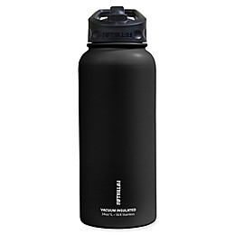 FIFTY/FIFTY 34 oz. Double Wall Vacuum-Insulated Straw Lid Water Bottle