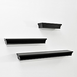Wall Solutions Ledge 3-Piece Shelf Set