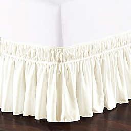 De Moocci Easy Wrap Ruffled Bed Skirt