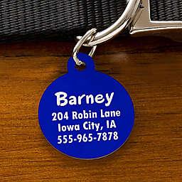 You-Name-It Circle Dog ID Tag
