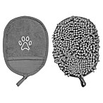 Pawslife™ Clean Pup Fabric Mitt in Grey (Set of 2)