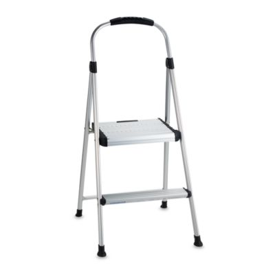 Pleasant Cosco Signature Two Step Aluminum Step Stool Inzonedesignstudio Interior Chair Design Inzonedesignstudiocom