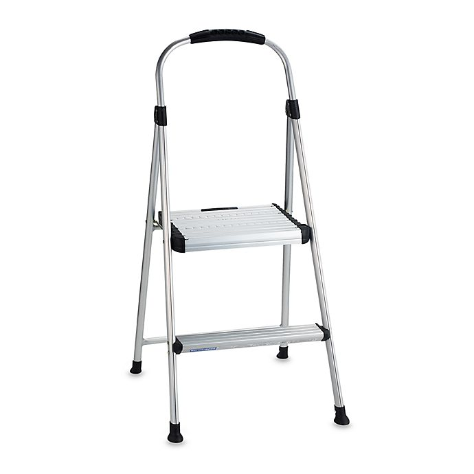 Astonishing Cosco Signature Two Step Aluminum Step Stool Bed Bath Ibusinesslaw Wood Chair Design Ideas Ibusinesslaworg