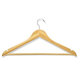 Honey-Can-Do® 4-Pack Wooden Suit Hangers