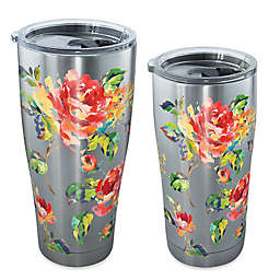 Tervis® Fiesta Rose Pattern Stainless Steel Tumbler