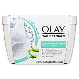 Olay® 33-Count Daily Facials Gentle Sensitive Clean Cleansing Cloths