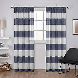 Darma Rod Pocket Window Curtain  (Set of 2)