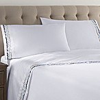 Hidden Retreat Waves 300-Thread-Count Standard Pillowcases in Grey/White (Set of 2)