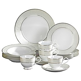 Mikasa® Parchment 20-Piece Fine China Dinnerware Set