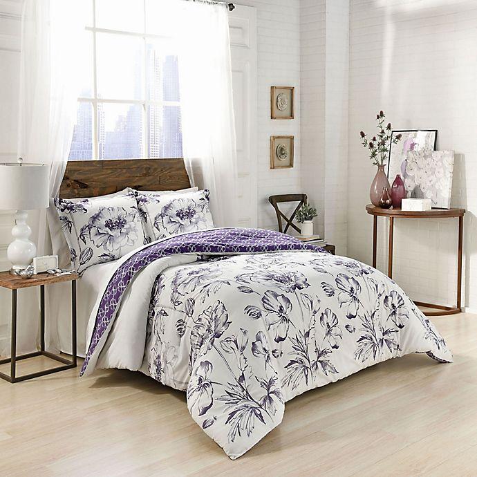 Alternate image 1 for Marble Hill Jasmeen Reversible Comforter Set