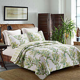 Palm Grove Reversible Quilt Set