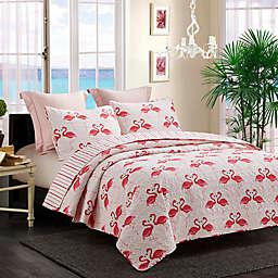 Flamingo Dance Quilt Set