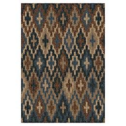 Orian Rugs Majestic Shag Lorcan Rug in Blue