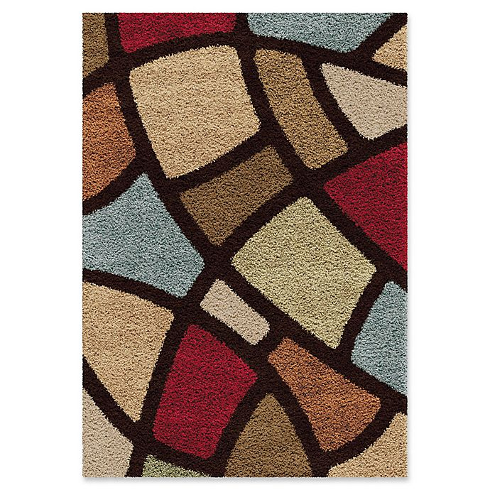 Alternate image 1 for Orian Geometric Circle Bloom 7-Foot 10-Inch x 10-Foot 10-Inch Shag Area Rug in Multi