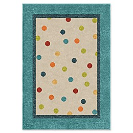 Orian Rugs Kids Polka Multicolor Rug