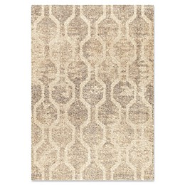 Orian Rugs Majestic Fence Line Area Rug in Ivory