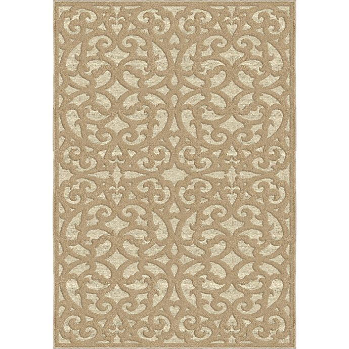 Alternate image 1 for Orian Rugs Seaborn 7'9 x 10'10 Area Rug in Beige