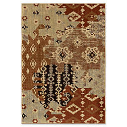 Orian Rugs Heritage Kilim Patches Woven Area Rug in Multi