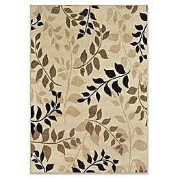 Orian Rugs Four Seasons Olive Grove Woven Area Rug in Beige