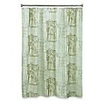 Solitude 70-Inch x 72-Inch Fabric Shower Curtain
