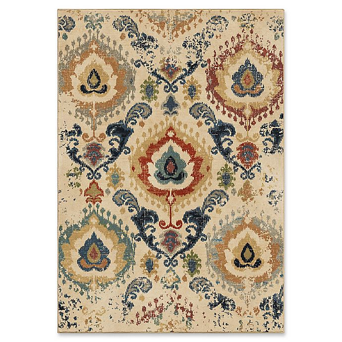 Alternate image 1 for Orian Rugs Distressed Trinidad 7'10 x 10'10 Area Rug in Beige