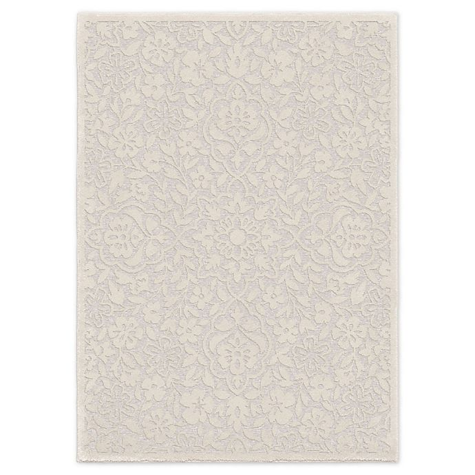 Alternate image 1 for Orian Rugs Cottage Floral 7'9 x 1'10 Area Rug in Ivory