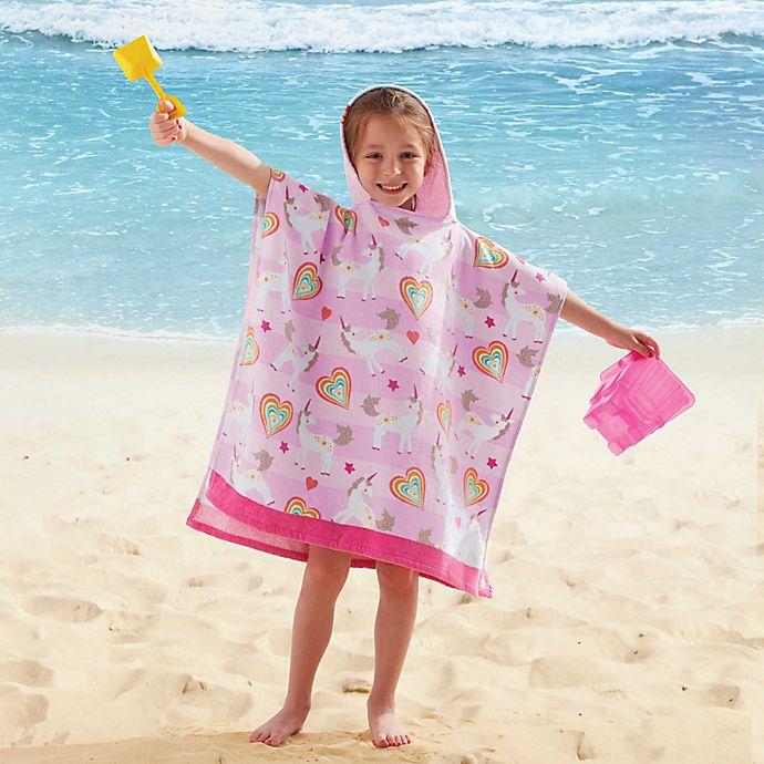 Alternate image 1 for Kids' Hooded Unicorn Towel