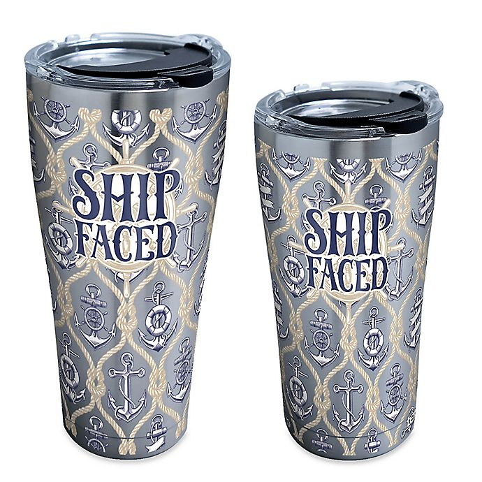 Alternate image 1 for Tervis® Ship Faced Stainless Steel Tumbler with Lid