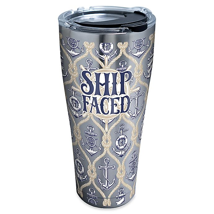 Alternate image 1 for Tervis® Ship Faced 30 oz. Stainless Steel Tumbler with Lid