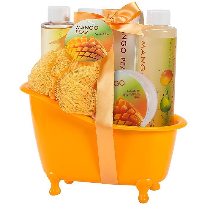 Alternate image 1 for Freida & Joe Mango Pear Spa Bath Set
