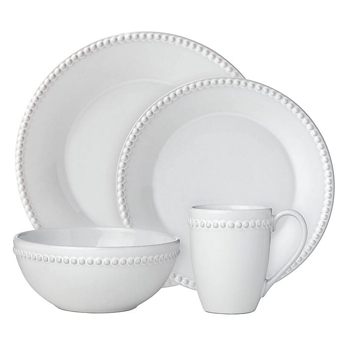Alternate image 1 for Lenox® French Carved™ Pearl Dinnerware Collection