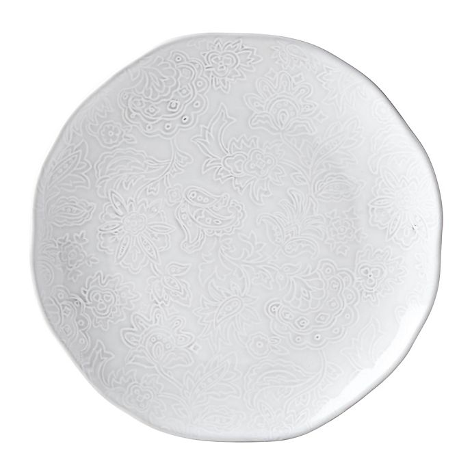 Alternate image 1 for Lenox® French Carved™ Flower Accent Plate