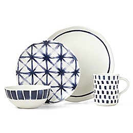 Lenox® Painted Elements™ Indigo Sketch 16-Piece Dinnerware Set