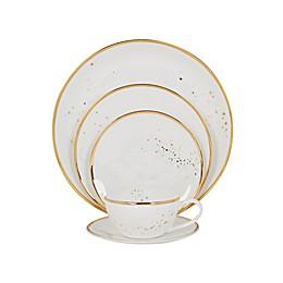 Olivia & Oliver™ Harper Splatter Organic Shape Gold Dinnerware Collection