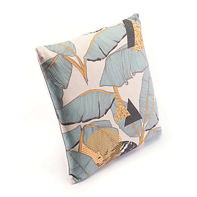Zuo® Modern Tropical Square Throw Pillow in Yellow/Green