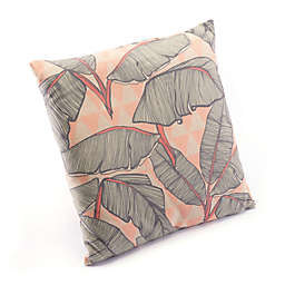 Zuo® Modern Tropical Square Throw Pillow in Pink/Green