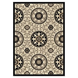 Orian Rugs Nuance Annex Taupe Woven Area Rug in Grey