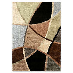 Orian Rugs Abstract Duchess Multicolor 7'10 x 10'10 Area Rug